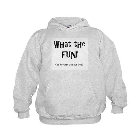 What Fun Kids Hoodie