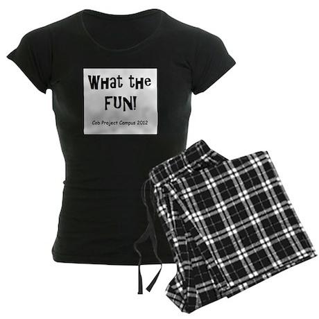 What Fun Women's Dark Pajamas