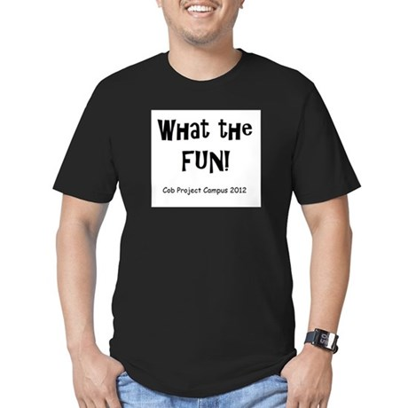 What Fun Men's Fitted T-Shirt (dark)