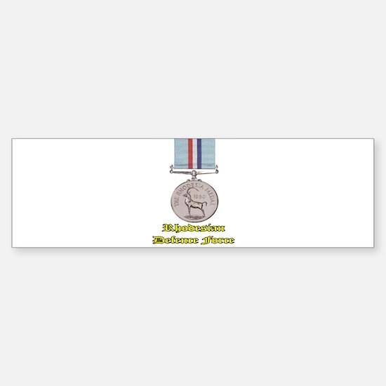 Rhodesian Defence Medal Sticker (Bumper)