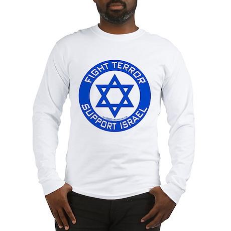 israel_round Long Sleeve T-Shirt