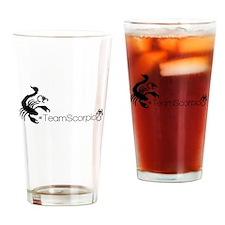 #teamscorpio Drinking Glass