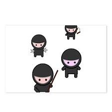 Ninja Time Postcards (Package of 8)