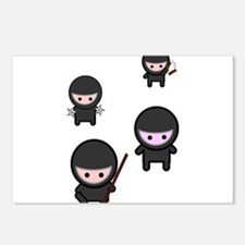Ninja Time Postcards (Package of 8)