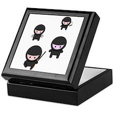 Ninja Time Keepsake Box