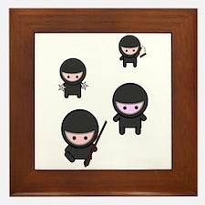 Ninja Time Framed Tile