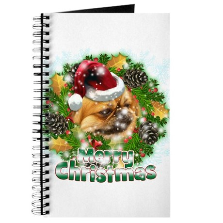 Merry Christmas Pekingnese.png Journal