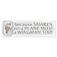 SoaP Wingman Bumper Bumper Sticker