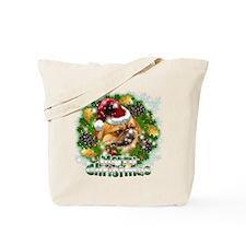 Merry Christmas Pekingnese.png Tote Bag