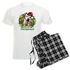 Merry Christmas Pitbull.png Pajamas
