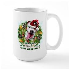 Merry Christmas Pitbull.png Mug