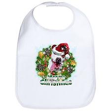 Merry Christmas Pitbull.png Bib