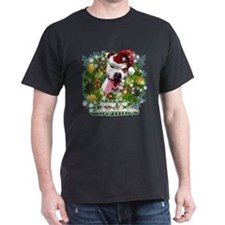 Merry Christmas Pitbull.png T-Shirt
