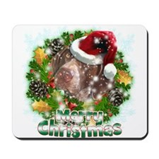 Merry Christmas Pointer.png Mousepad