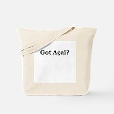 """Got Acai?"" Tote Bag"