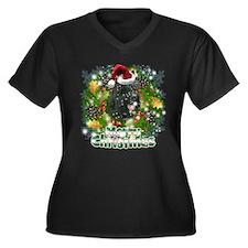 Merry Christmas Scottish Terrier.png Women's Plus