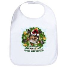 Merry Christmas Sheltie.png Bib