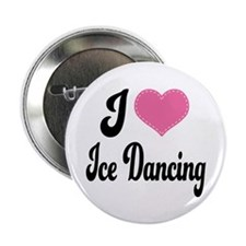 "I Love Dancing 2.25"" Button"