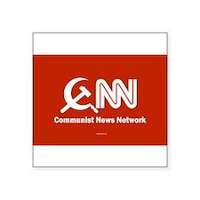 CNN - Commie News Network Oval Sticker