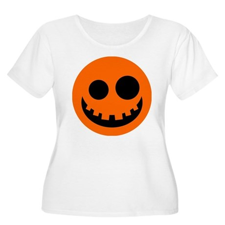 Smiley12 Women's Plus Size Scoop Neck T-Shirt