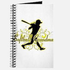 Softball Grandma (silhouette).png Journal