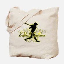 Softball Grandma (silhouette).png Tote Bag