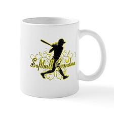 Softball Grandma (silhouette).png Mug