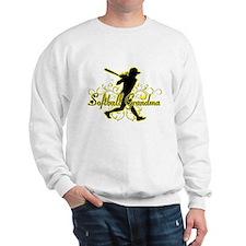 Softball Grandma (silhouette).png Sweatshirt