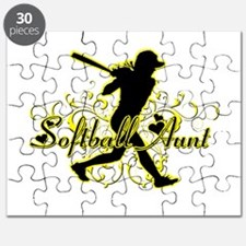Softball Aunt (silhouette).png Puzzle