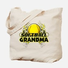 Softball Grandma (cross).png Tote Bag