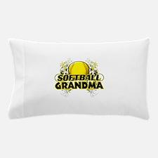 Softball Grandma (cross).png Pillow Case