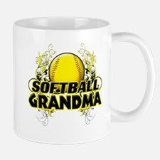 Softball Grandma (cross).png Mug