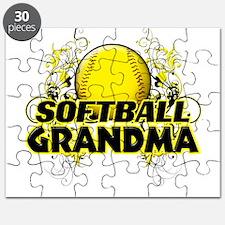 Softball Grandma (cross).png Puzzle