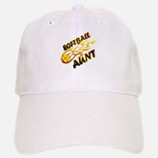 Softball Aunt (flame).png Baseball Baseball Cap