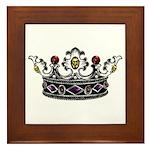 Crown Jewels Framed Tile