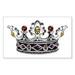 Crown Jewels Rectangle Sticker