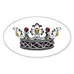 Crown Jewels Oval Sticker