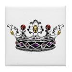Crown Jewels Tile Coaster