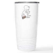 Jane Austen Thermos Mug