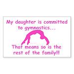 Gymnastics Sticker - Mom