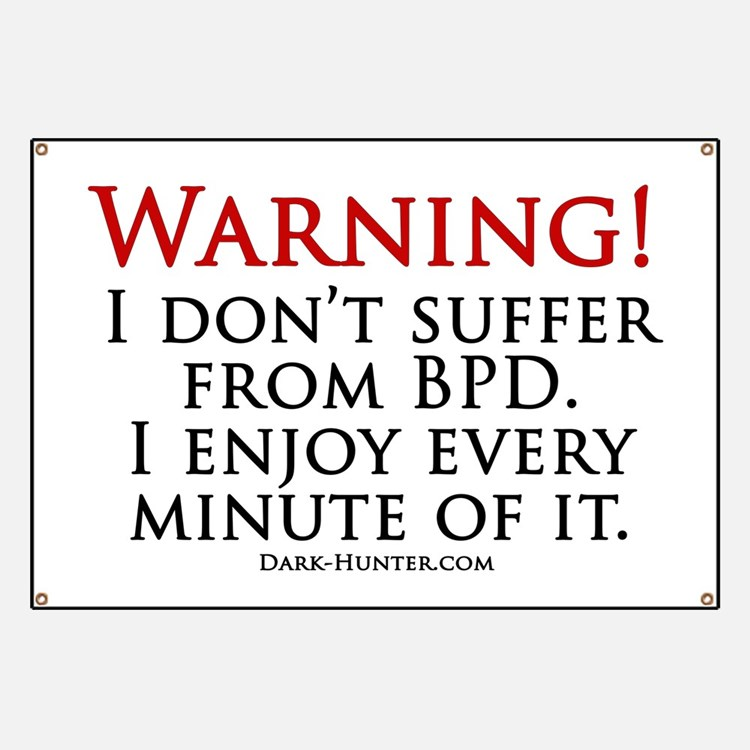 Warning BPD Banner