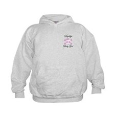 Daddy's Baby Girl Skull Hoodie