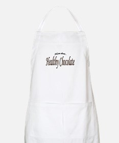 """""""Ask Me About Healthy Chocolate"""" BBQ Apron"""