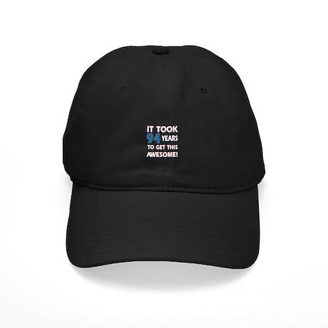 94 Year Old birthday gift ideas Black Cap