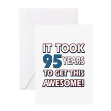 95 Year Old birthday gift ideas Greeting Card