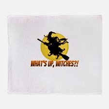 White Witch Throw Blanket