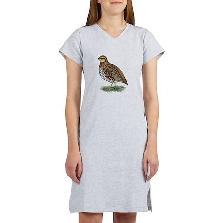 Bobwhite Quail Hen Women's Nightshirt