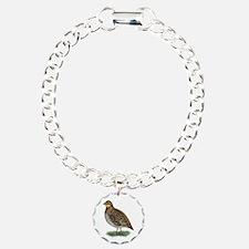 Bobwhite Quail Hen Bracelet