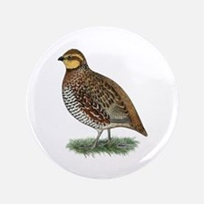 "Bobwhite Quail Hen 3.5"" Button (100 pack)"