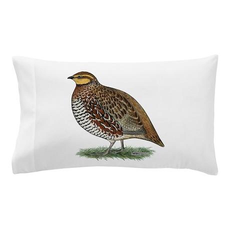 Bobwhite Quail Hen Pillow Case